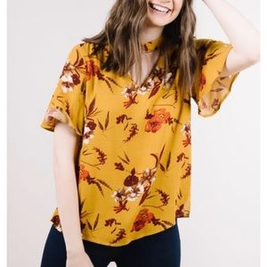 Tops - Master floral Blouse